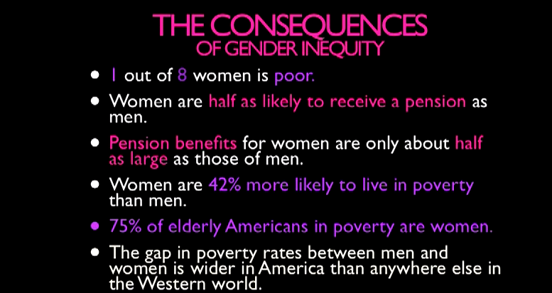 I don't care if people are pissed The truth is that wage inequality adversely effects women. http://t.co/5tMjJXgbGz