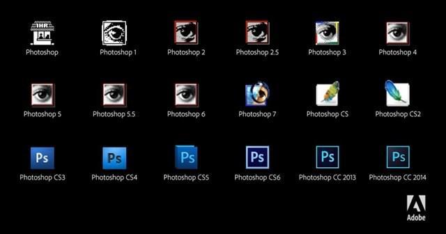 Photoshop、25年間の変遷をアイコンで見てみましょう http://t.co/93FCKUNOzV http://t.co/c0Ti1UlN47