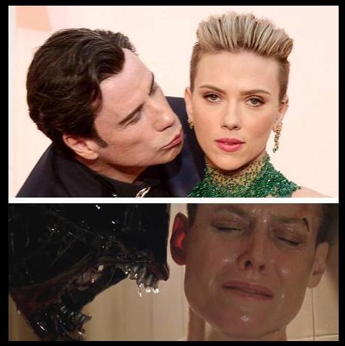The Travolta/ScarJo kiss: Nailed it http://t.co/O3DyvnYrbV