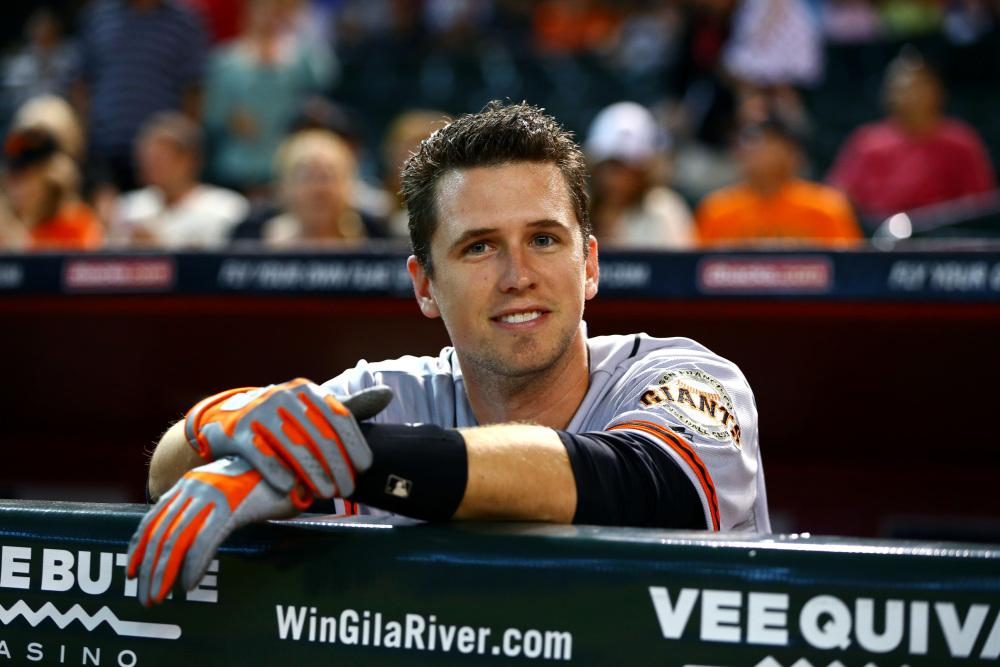 My pick for the #FaceOfMLB is #BusterPosey because, I mean… c'mon. http://t.co/JHcddseggz