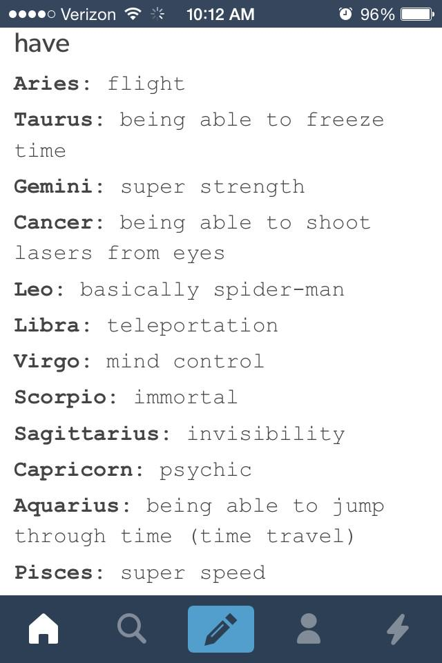 Signs superpowers zodiac Here's What