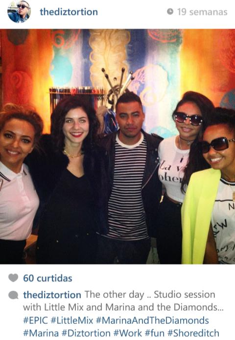 It's pretty much confirmed that Little Mix and Marina worked together. I'm so happy!