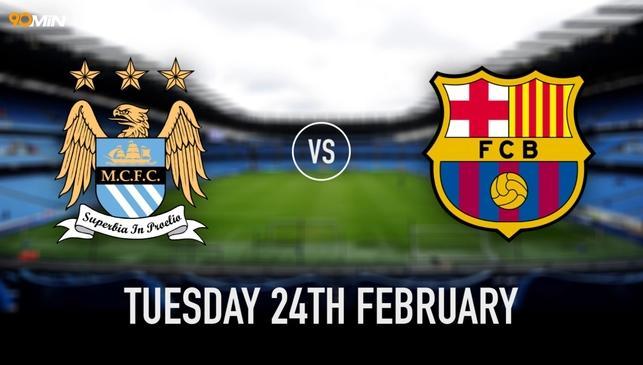 Manchester City-Barcellona in Diretta TV: info orario streaming su Sky