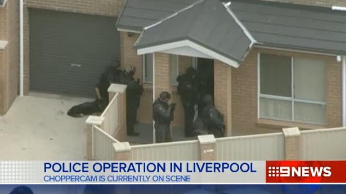 Update: tactical police and riot squad called to a liverpool