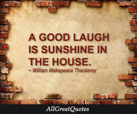 A good laugh is sunshine in the house - http://t.co/n4MsZd1Ou3 http://t.co/QBlz1uDsCM