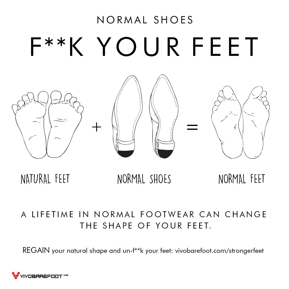 Normal shoes can fuck your feet http://t.co/5l9j0eATMu  #ForFootSake http://t.co/5MFPZGOOSR