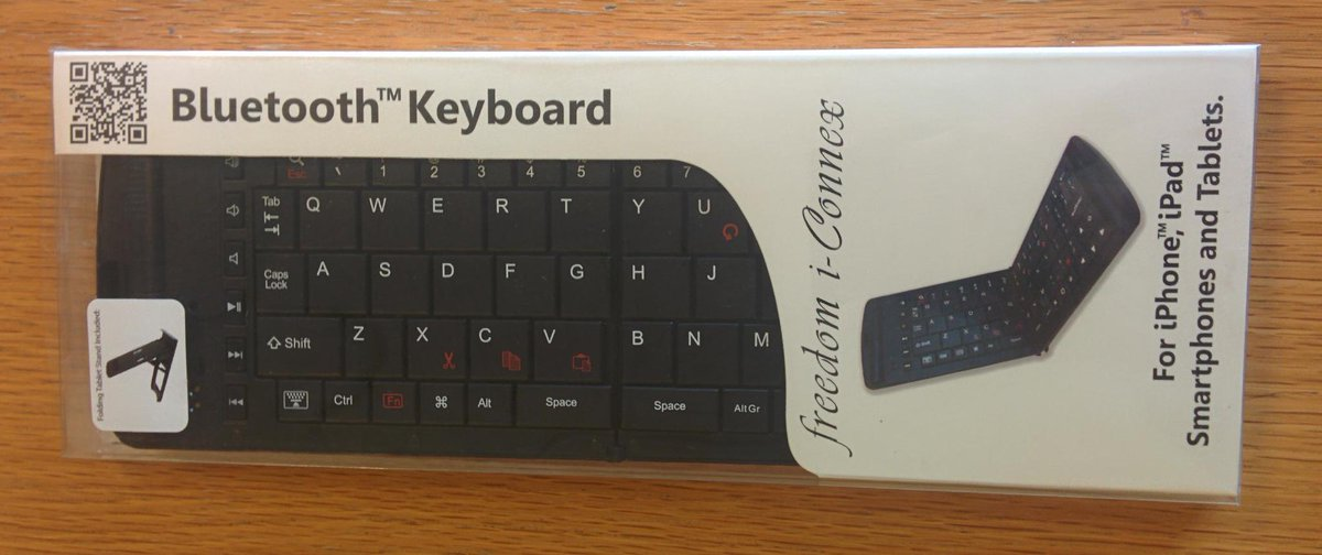 It's #competition time!  For a chance to #win this Bluetooth keyboard, just follow us & RT this tweet! http://t.co/Ni43UtSOhR