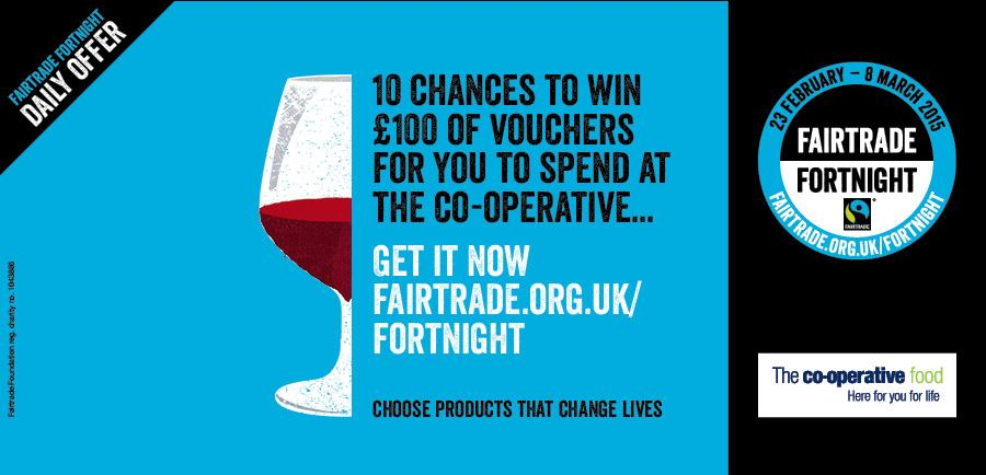 Win a £100 voucher for @CooperativeFood - think of all the #Fairtrade goodies you could get. http://t.co/Ni3uwiGNzY http://t.co/0N8K7jyXIa