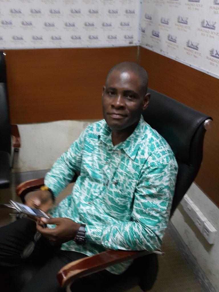 EtV Ghana's JOT Agyeman already in studios 4 #PanAfrican Film, Media @mashanubian @KhaitaSylla @KojoAbroba @KojoAB http://t.co/ukwxfs8CzB