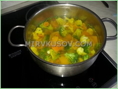 Рецепт овощного супа с фото