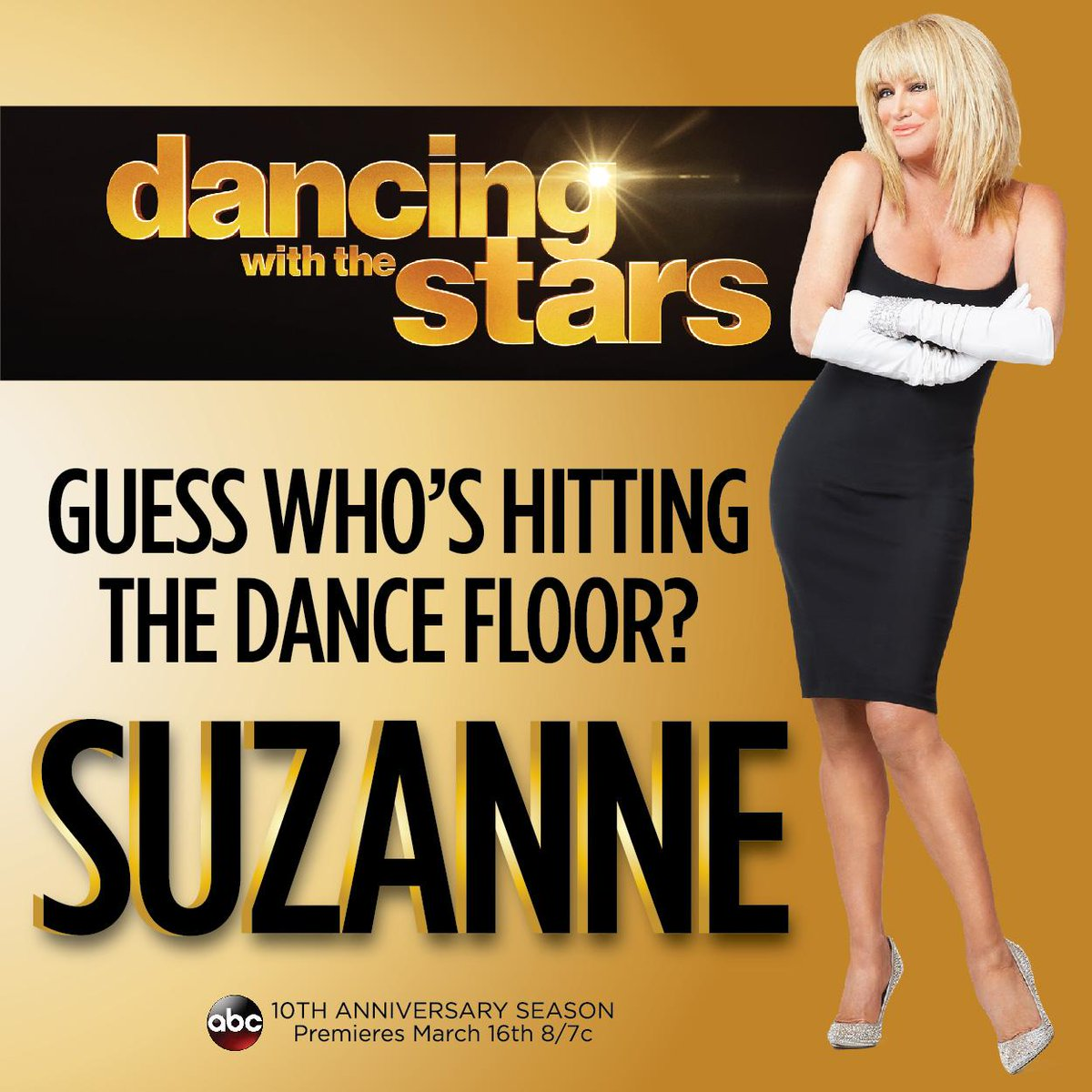 I'm THRILLED to announce I will be on @DancingABC for their 10th Anniversary Year! Wish me luck! #GMADancing #DWTS20 http://t.co/FdeCV3UgDj