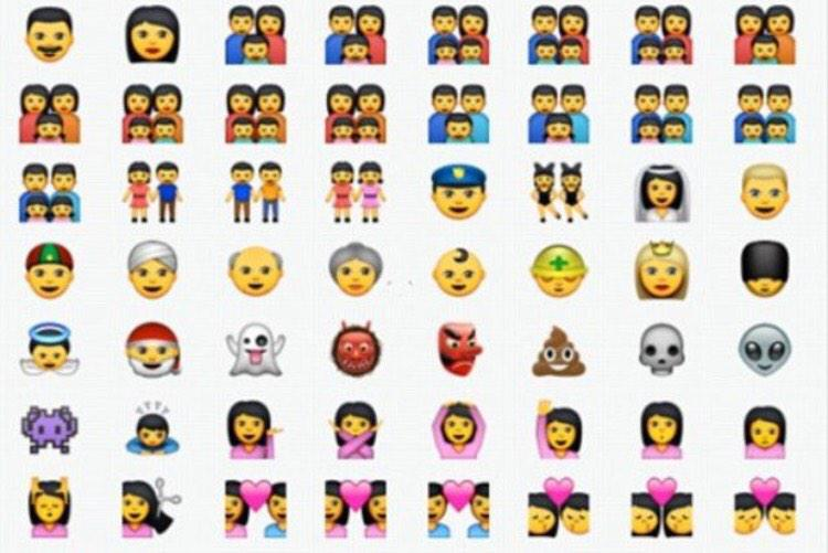 LGBT Mydaughtersarmy On Steve Jobs 60th Birthday Apple Release Emojis Depictions Of Same Sex Families Pictwitter PgQsHg6es0