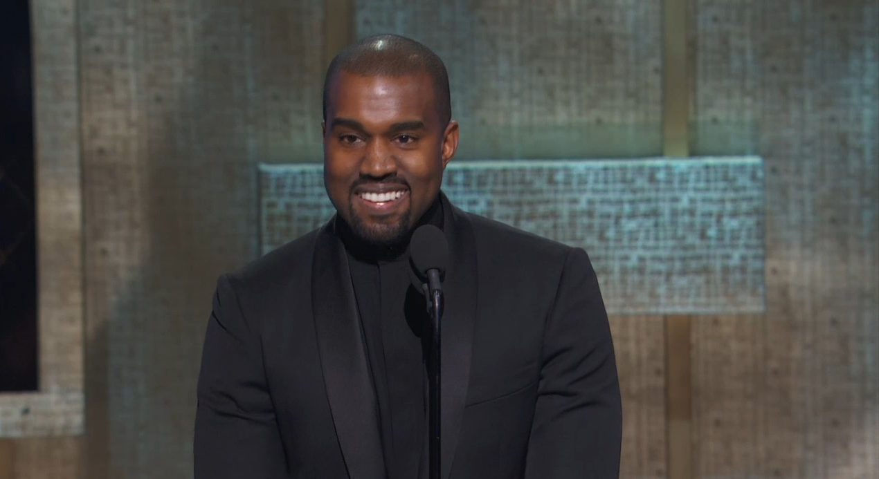 RT @GlobalGrind: Watch Kanye's unedited 8-minute acceptance speech at the BET Honors http://t.co/fxJeiiPOCm http://t.co/Qi8TkfBmJ6