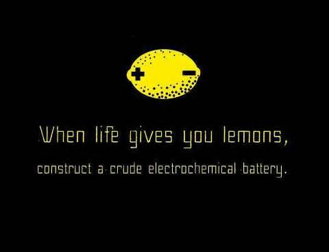 When life hands you lemons (for all the science kids out there...) #morethanrobots @FIRSTweets http://t.co/B4Pk17U2bD