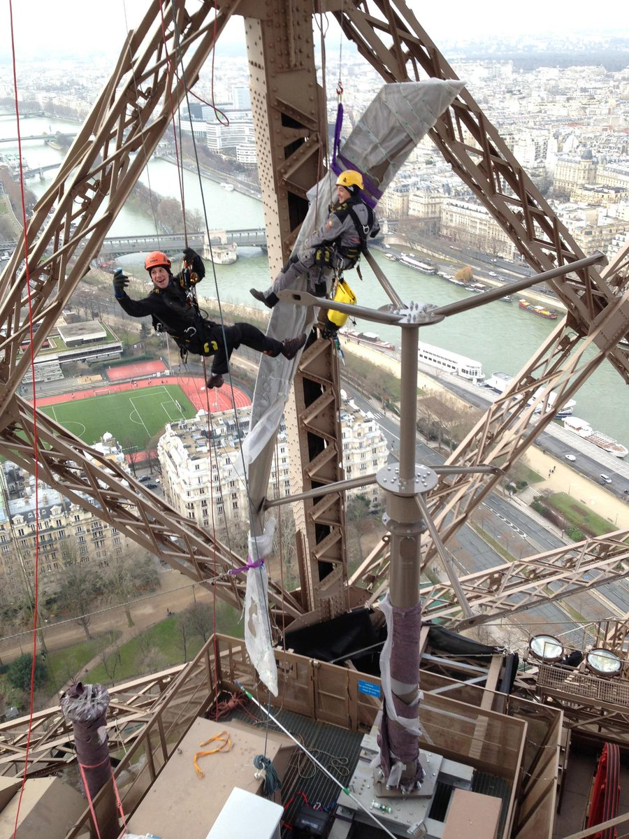 The Eiffel Tower now generates its own energy with wind turbines