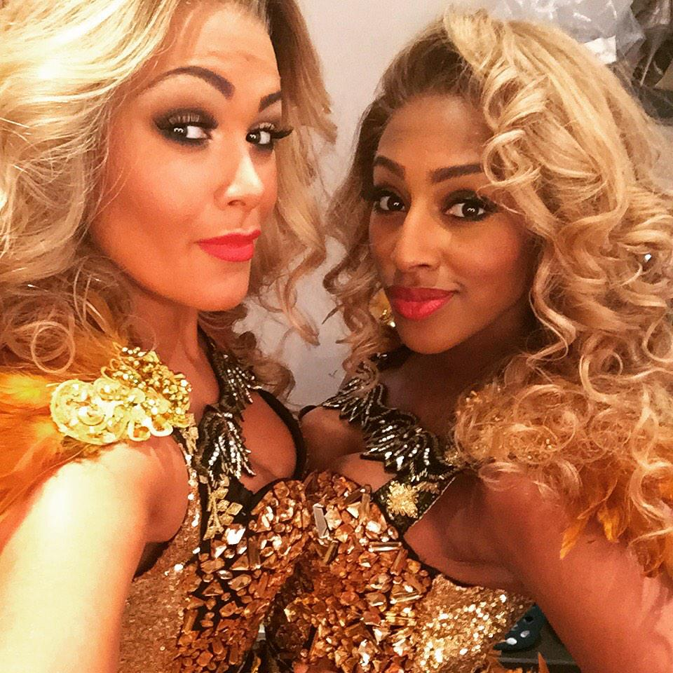 RT @iamzoebirkett: Me and @alexandramusic filming today for @TheBodyguardUK .. Double trouble ! Love this girl 👑👑 http://t.co/IZQHPVnHjX