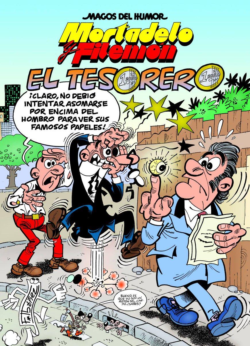 . @VictorFdez_: Ibáñez lo ha hecho: ha convertido a Bárcenas en el protagonista del nuevo álbum de Mortadelo. http://t.co/1oGNyYvatZ