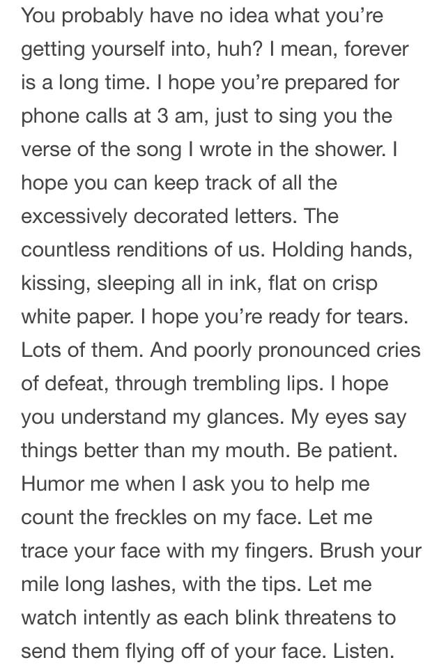 halseysupdating a love letter halsey wrote back in 2012 her writing always blows me away pictwittercomuif1k6kbni dear future husband