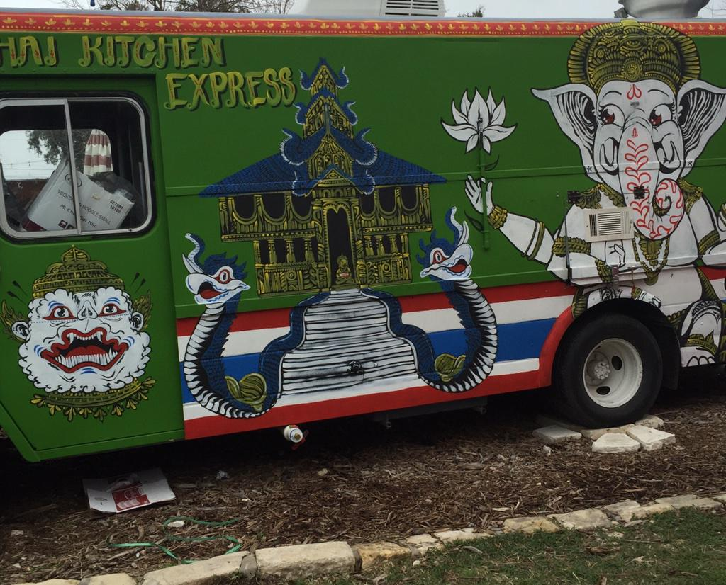 The new art work on The Thai Kitchen Express is done. Now just waiting on the weather to cooperate! Stay warm! http://t.co/1hvG3xBqP7
