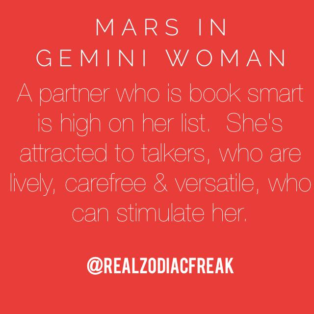 How to attract a gemini female