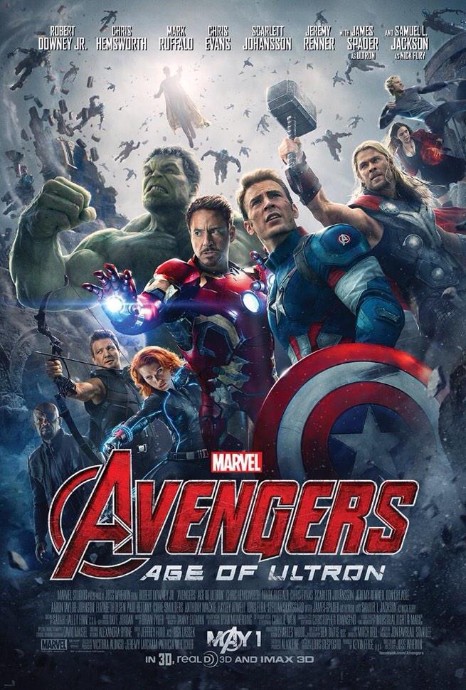 Marvel releases the poster for Avengers: Age of Ultron! http://t.co/7afNtkeN9j