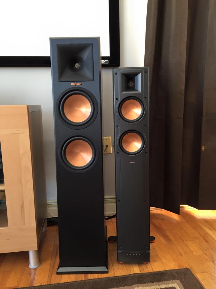 klipsch audio on twitter reference premiere rp 260f vs reference ii rf 42 ii c o steven. Black Bedroom Furniture Sets. Home Design Ideas