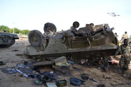 فور دخولها الخدمه : مدرعه Otokar Cobra التركيه تم سحقها بعبوه ناسفه محلية الصنع في بوركينا فاسو B-ovKGdW4AMnvT1