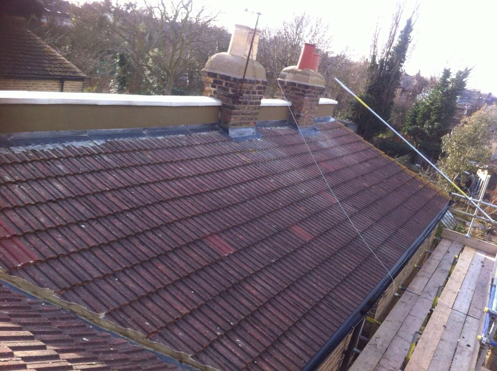 Roof Coping Stones Amp Proper Flat Roof Parapet Wall