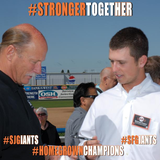 .@SFGiants #BusterPosey knows a thing or two about championships. RT to help him win #FaceofMLB! #HomegrownChampions http://t.co/SuGDusvMw7