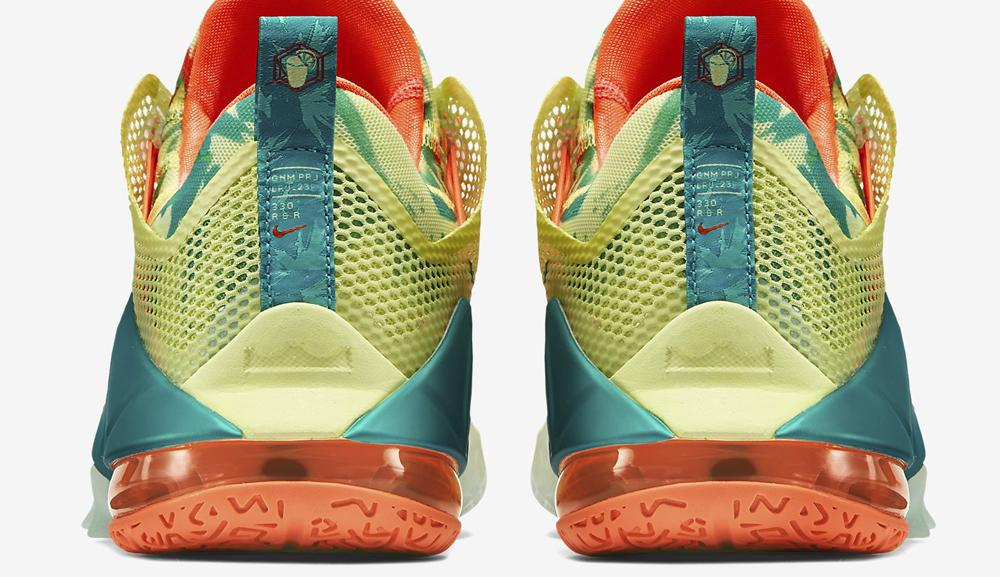 huge selection of 1bbd7 33b51 The result is a new mango and lime colorway, which will sure to get you  noticed. Source  SoleCollector.com. The last edition of the LeBronold Palmer  ...