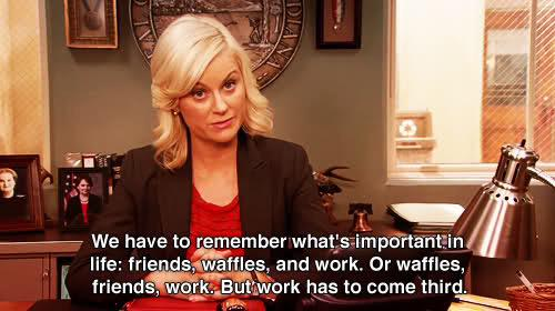 Dear Leslie Knope, Parks may be ending but you will always have Wafels. #ParksFarewell #dinges #dingesforever http://t.co/JGiXtcOJwE