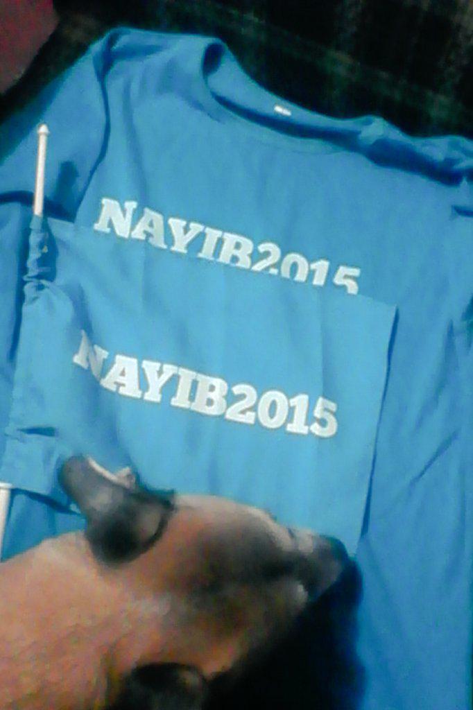 Y cuando iba de salida, obtuve esto  :D ¡Felicidades futuro alcalde! Hasta Spunky lo apoya @nayibbukele :) http://t.co/suAEBYGhUf
