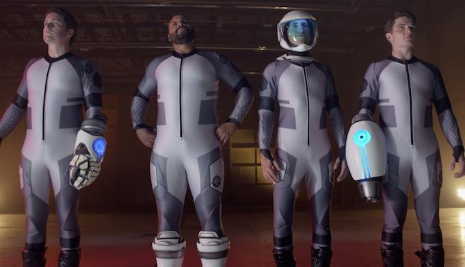 Watch an impressive teaser for the $2.5 million crowdfunding sensation 'Lazer Team' http://t.co/i2A2t5gqK2 http://t.co/Vdy8hLlFB0