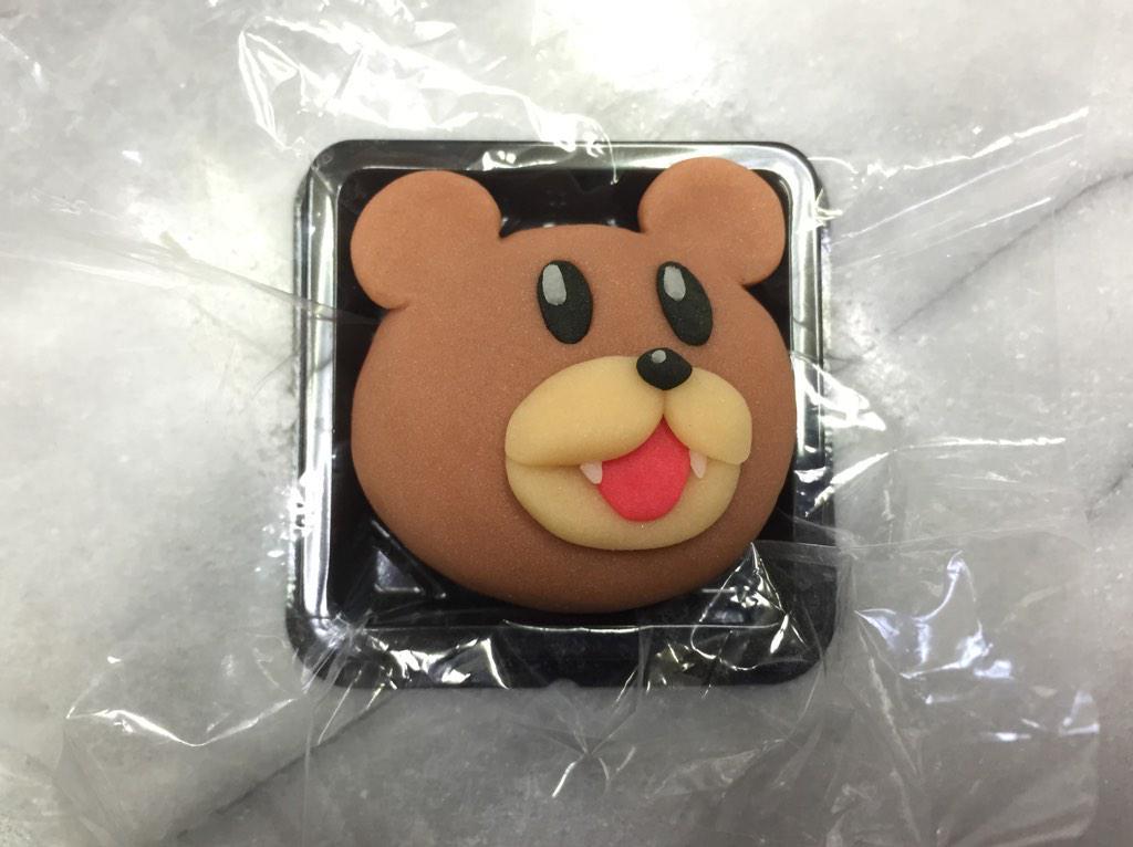 おう!そう言うんじゃないかと思って和菓子を作っておいたぞ!!レオナルド博士(レオナルド・デカ・ヴィンチ)#鷹の爪 #和菓子で作ってみたZ pic.twitter.com/0NWk6mZSum