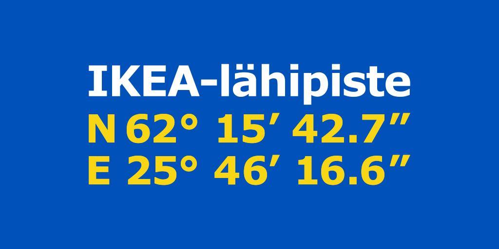 IKEA lähipiste Jyväskylä  IKEA