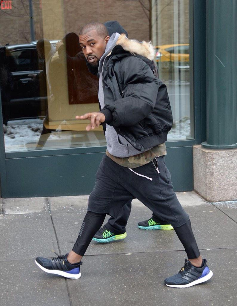 what to wear with yeezys