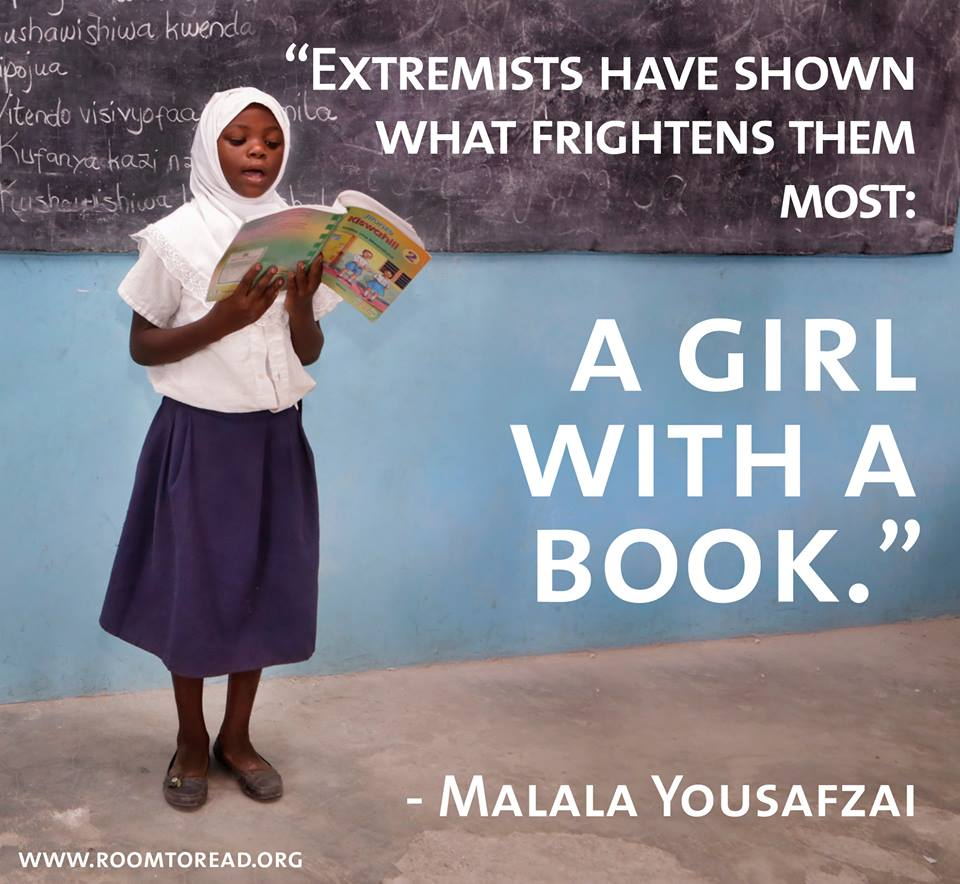 """""""When you empower a woman, you empower an economy, and indeed a nation."""" - Cherie Blair #MLW2015 #Malala http://t.co/skgeF7M3kj"""