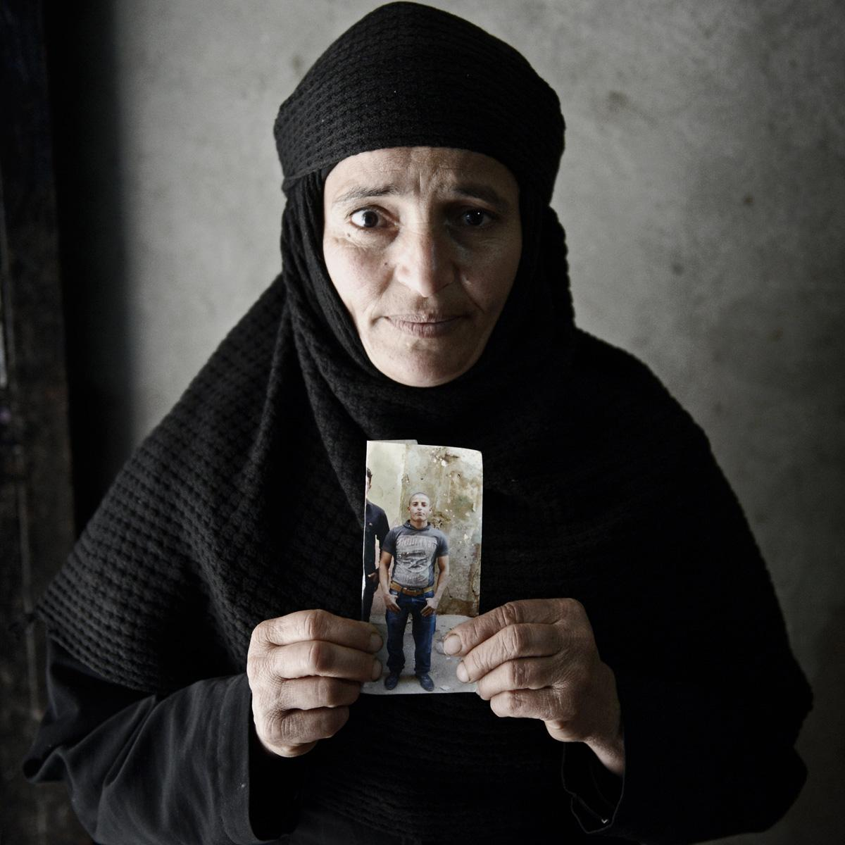Mother of slain worker Kirollos, 23. One of 21 Egyptians beheaded by ISIS. My story for MEE: http://t.co/CtYtQi3Q8N http://t.co/14DgjG7evc