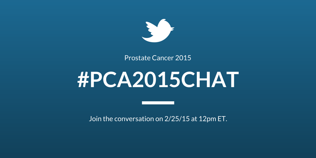 Thumbnail for Prostate Cancer Chat Part II #PCA2015Chat