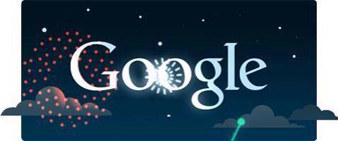"""صورة   محرك البحث """" جوجل """" يشارك الكويت احتفالاتها بالأعياد الوطنية http://t.co/smy1E0569s"""