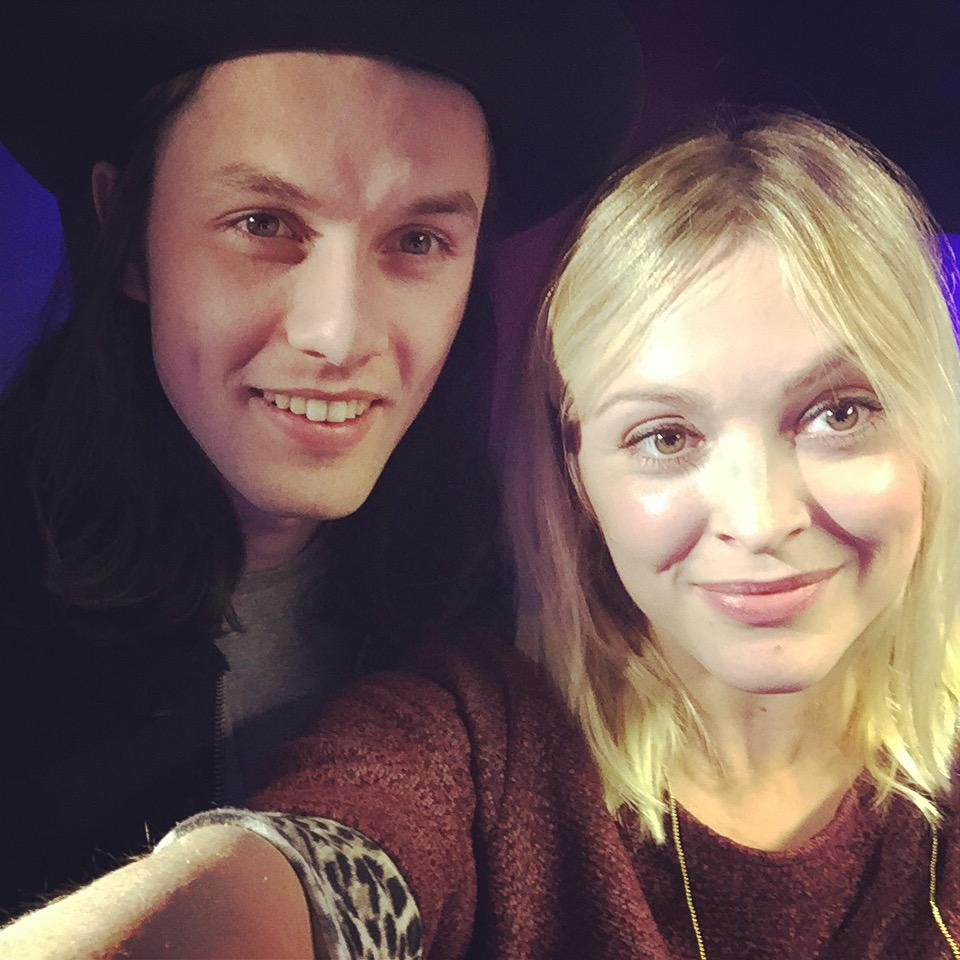 Thanks so much @JamesBayMusic and have an amazing night at your Brits tonight! ( WITH your award!) http://t.co/x94gR8SmNH