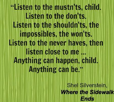 To make us think! RT @curriculumblog: Teach the Whole Child via Shel Silverstein #edchat http://t.co/9aqNpF39ew @SATeachLearn #satchatoc