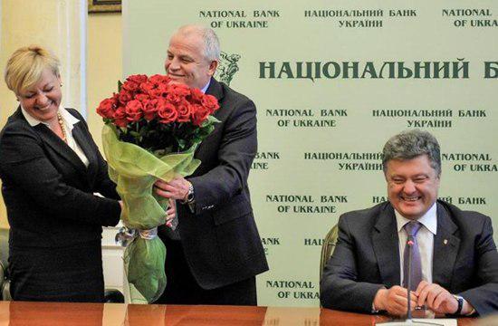 Порошенко проводит совещание с Гонтаревой и Яценюком, - НБУ - Цензор.НЕТ 3546