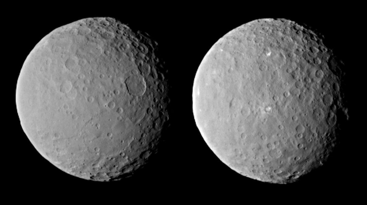 Wednesday blues? Consider this: @NASA_Dawn is arriving somewhere we've yet to explore + sent you these pics. #Ceres http://t.co/MoxRtKvBET