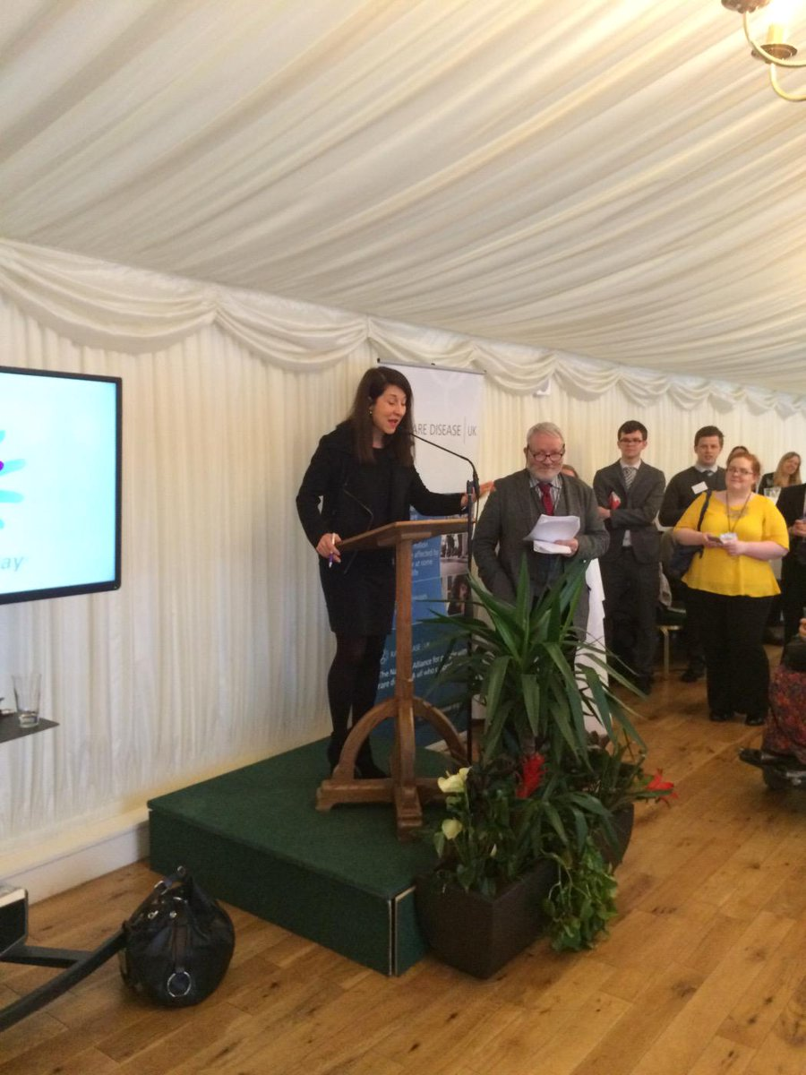 At Rare Disease House of Commons reception today Liz Kendall MP http://t.co/kHuHNdq2pj