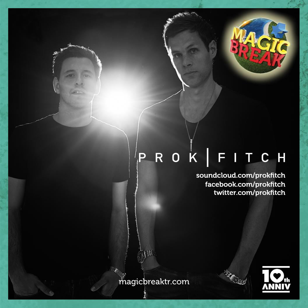 With their smooth rhythms and sounds, British duo @prokfitch is preparing to bring Sensation music to #MagicBreak. http://t.co/bSXSC7aD5L