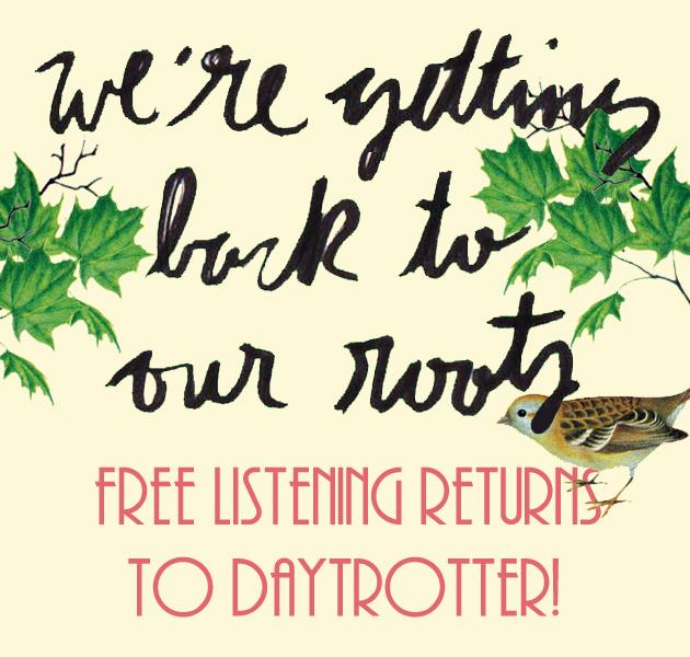 We're going back to our roots! http://t.co/9BSjyo13Bv listening is free again. #freeDT http://t.co/ia7ptOphR6