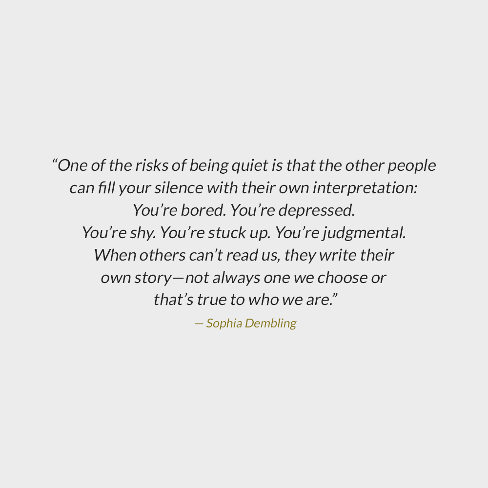 Quotes About Being Quiet
