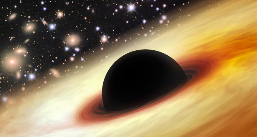 Astronomers Find Supermassive Black Hole 12 Billion Times Size of the Sun