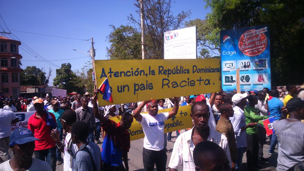 TT @walcamhaiti: #Haiti the demonstration against Dominican xenophobia against nationals has reached its goal http://t.co/58jnkBYaAE